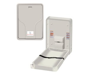 American Specialties Surface Mount Vertical Changing Station