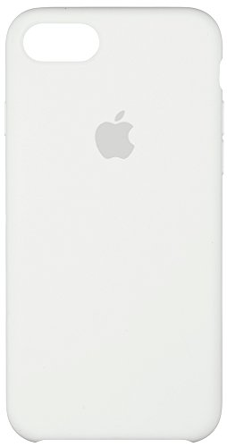 Apple Silicone Case for iPhone 7 - White