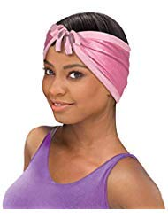 Stay On Satin Hair Wrap Cap Tie Up Womens Head Scarf for Sleeping, Assorted Colors, 3 Pack