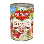 Del Monte Diced Tomatoes with Garlic & Onion 14.5 oz (Pack of 12)