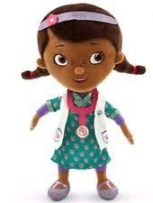 Disney - Doc Mcstuffins Plush Doll - Scrubs - Small - 13'' - New with Tags ()