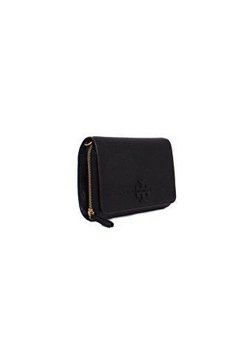in Black Crossbody Wallet McGraw Burch Leather Flat Tory XBqxYaw0n