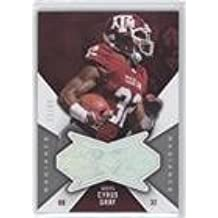 Cyrus Gray #51/99 (Football Card) 2012 SPx - Finite Rookies - Radiance #F-CG