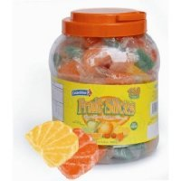 Colombina Individually Wrapped Assorted Fruit Slices - 150ct Jar