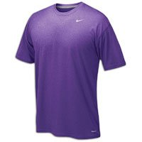 NIKE Men's Legend Short Sleeve Tee, Purple, M