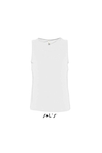 Sols - Justin - Herren Tank Top , White , XXL