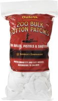 1209188 OUTERS All Shotgun Gauge Cotton Bulk Bagged Cleaning Patches (200Count) Outers Gun Cleaning Supplies