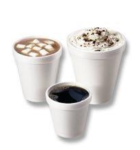 Drinking Cup Dart - Item Number 12J12CS - 12 oz. - 1000 Each / Case - 10 Ounce Styrofoam Cups
