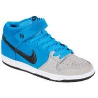 - Men's Nike Dunk SB Mid Pro Blue Hero Black Wolf Grey 314383 400 Skateboarding (MEN SIZE 10, Blue Hero Black Wolf Grey)