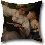 Pillow Shams 16 X 16 Inches / 40 By 40 Cm(each Side) Nice Choice For Girls,club,dinning Room,husband,valentine,sofa Oil Painting James Sant - The Fairy Tale