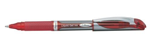 Pentel Liquid Gel Pen, Refillable, 1.0mm, Red Barrel/Ink (BL60-B)