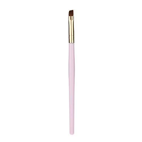 Weite Flat Angle Eyeliner Eyebrow Contour Makeup Brush - Portable Eye Powder Foundation Brush, Beauty Cosmetic Tool for Professional and Travel ()