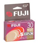 Fuji SVHS-C 30-Minute Tape (SVHSTC30) (Discontinued by Manufacturer)
