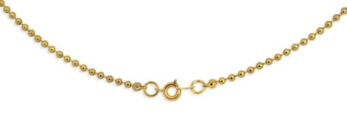 Goldplated 2.4mm Ball Chain 30 inches