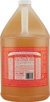 Dr. Bronner Magic 18-in-1 Hemp Tea Tree Pure Castile Soap, 1 Gallon -