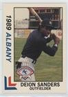 Deion Sanders (Baseball Card) 1989 Best Albany-Colonie Yankees - [Base] - Albany Colonie
