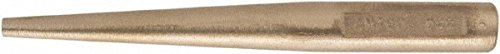 1/4'' Aluminum Bronze Pin Punch, 6'' OAL