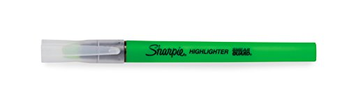 Sharpie Clear View Highlighter Stick, Green, Box of 12 (1950450) by Sharpie (Image #3)