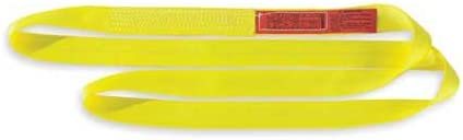 Web Sling, Type 5, Polyester, 1inW, 8 ft.L