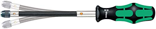 Wera Kraftform 392 Hexagon Flexible Shaft Bitholding Screwdriver, 1/4