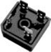 FAIRCHILD SEMICONDUCTOR GBPC3510 BRIDGE RECTIFIER, 1PH, 35A, 1KV, QC (5 pieces)