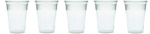 GEN WRAPCUP Individually Wrapped Plastic Cups, 9oz, Clear (Case of 1000) (5-(Pack))