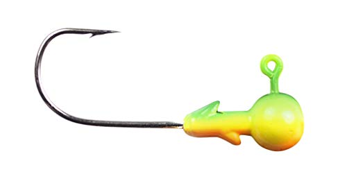 Lunkerhunt Terminal Tackle Panfish/Live Bait Ball Head Jig - 2 Hook 1/16Oz