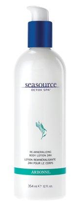 Arbonne Seasource Detox Spa Re-Mineralizing Body Lotion, 12 Fluid Ounce