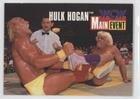Hulk Hogan; Ric Flair (Trading Card) 1995 CARDZ WCW Main Event - Promos #2
