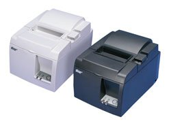 Star Micronics 39461110 Model TSP143U Gry Thermal Printer, Cutter, USB Cable and Power Supply, Gray