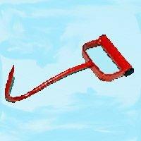 Farmex/Speeco 47010600 Hay Hook Red 17