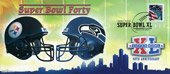 - Super Bowl XL Rivals Pittsburgh Steelers Seatle Seahawks First Day Cover