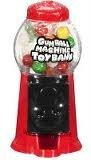 Gumball Machine Toy Bank, 1.4 oz Gumballs (Pack of 12)