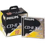Philips CDR 80min 700MB Audio 10Pack CD-Rohlinge