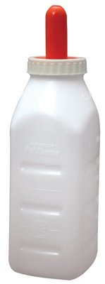 (36) Milk Specialties # 973 Advance 2 Qt Calf / Livestock Screw Top Bottle Sets
