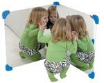 Pair Of 24'' Corner Mirror by Children's Factory by Children's Factory