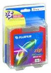 Fuji 3-Pack of IBM-Formatted Color Zip Disks (25271141) by Fuji