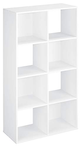 ClosetMaid 420 Cubeicals Organizer, 8-Cube, White (Furniture Organizer Closet)