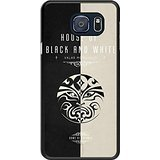 Galaxy S6 edge+ Case - Game of Thrones Houses Black Cell Phone Case Cover for Samsung Galaxy S6 edge Plus