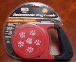 - 26 Foot Retractable Dog Leash,color may vary