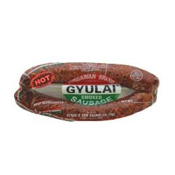 Gyulai Smoked Sausage-Hot, approx. 0.8lb
