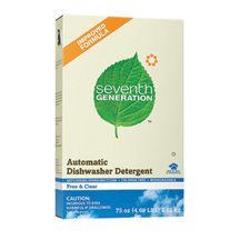 Seventh Generation Automatic Dishwasher Powder, 75 Ounce -- 8 per case.