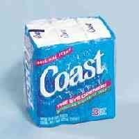 Coast Pacific Force Soap Bar Individually Wrapped by Dial