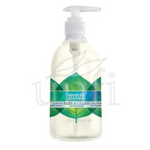 (2 Pack) Seventh Generation Natural Hand Wash, Free & Clean Unscented, 12 Fl. Oz.