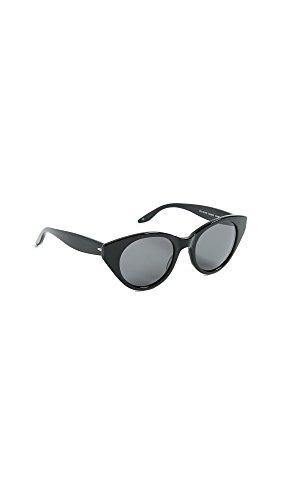 Barton Perreira Women's Kismet Sunglasses, Black/Noir, One - Glasses Barton Perreira