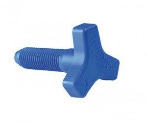 Twinny Load Sternschraube einzeln passend für alle Klemmschuhe blau product image