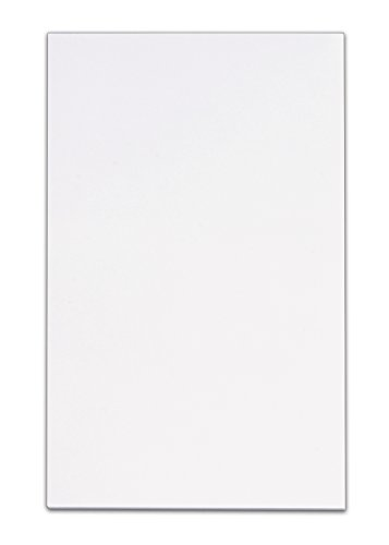 TOPS Memo Pad, 5 x 8 Inches, Plain, 100 sheets per Pad, White, Pack of 12 Pads (7822)