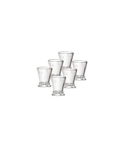 La Rochere Set Of 6, 3-ounce Napoleon Bee Egg Cups/Shot Glasses