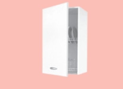 Tosend Servizi sas Pensile per cucina componibile scolapiatti 1 Anta Formula 50 cm L40 colore bianco