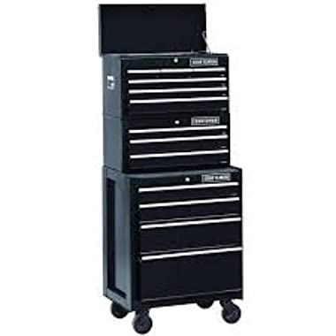 26 In. 13-drawer Heavy-duty Ball Bearing 3-pc Combo Is Perfect for Your Home, Garage or Small Work Shop. This 3 Piece Set Includes a Top Chest, Middle Chest and Rolling Cabinet. Store Small Parts, Hand Tools or Power Tools in These Storage Boxes. Gr